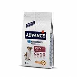 Advance - Сухой корм для пожилых собак малых пород (с курицей и рисом) Mini Senior - фото 14164