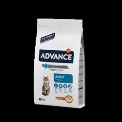 Advance - Сухой корм для взрослых кошек (с курицей и рисом) Adult - фото 14235