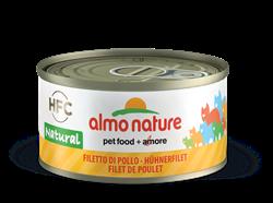Almo Nature - Консервы для кошек (куриное филе, 75% мяса) Legend Adult Cat Chicken Fillet - фото 14576