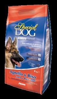 Special Dog - Сухой корм для собак с чувствительной кожей и особыми потребностями пищеварения (ягненок с рисом) - фото 14619