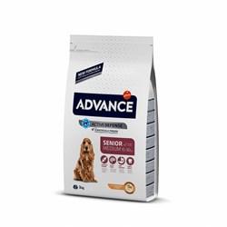 Advance - Сухой корм для пожилых собак (с курицей и рисом) Medium Senior - фото 14932