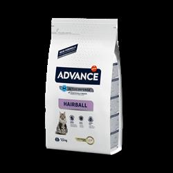 Advance - Сухой корм для вывода шерсти у кошек (с индейкой и рисом) Hairball - фото 15041