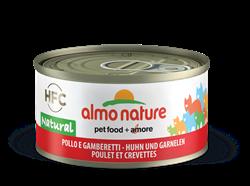 Almo Nature - Консервы для кошек (с курицей и креветками, 75% мяса) Legend Adult Cat Chicken & Shrimps - фото 15120