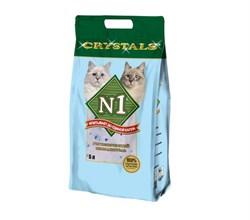 N1- Силикагелевый наполнитель, 5л, (Синий) Crystals - фото 16164