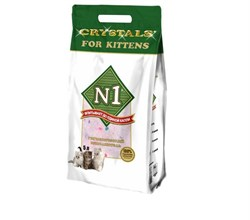 N1 -  Силикагелевый наполнитель для котят, 5л, Crystals for Kittens - фото 16165