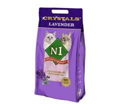 "N1 - Силикагелевый наполнитель ""Лаванда"", 5л, Crystals Lavender - фото 16167"