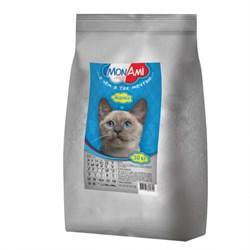 MonAmi - Сухой корм для взрослых кошек (с мясом индейки) - фото 16177