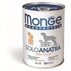 Monge - Консервы для собак (паштет из утки с малиной) Dog Monoproteico Fruits - фото 16216
