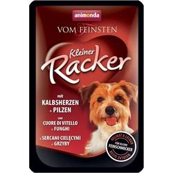 Animonda - Паучи для собак (c телячьим сердцем и грибами) Vom Feinsten Kleiner Racker - фото 16362