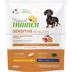 Trainer - Сухой корм для взрослых собак мелких пород без глютена (с лососем) Natural SENSITIVE - фото 16372