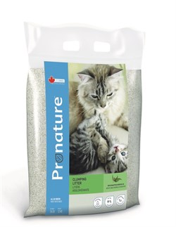 Pronature - Наполнитель комкующийся для кошек (с маслом эвкалипта) (12 кг) - фото 16393