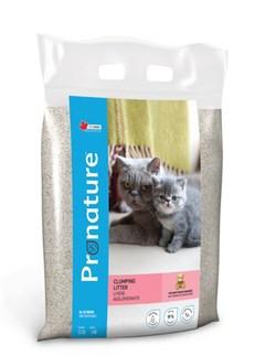 Pronature - Наполнитель комкующийся для кошек (с ароматом детской присыпки) - фото 16394