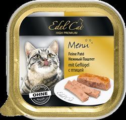 Edel Cat - Паштет для кошек (птица) - фото 16509