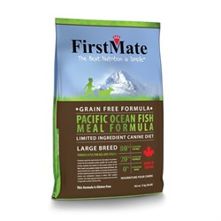 FirstMate - Сухой беззерновой корм для собак крупных пород (с рыбой) Pacific Ocean Fish Meal Large Breed - фото 16553