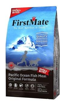 FirstMate - Сухой беззерновой корм для щенков и собак мелких пород (с рыбой) Pacific Ocean Fish Meal Original Small Bites - фото 16554