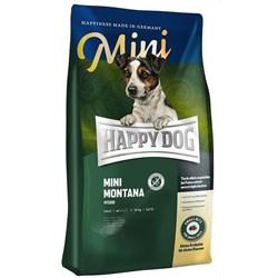 Happy Dog - Сухой корм для взрослых собак мелких пород при пищевой аллергии и чувствительном пищеварении (с кониной) Supreme Sensible Mini Mоntana - фото 16561