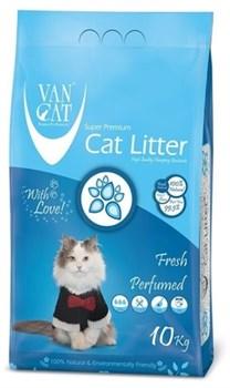 Van Cat - Наполнитель комкующийся без пыли для кошек (с ароматом весенней свежести) Fresh - фото 16601
