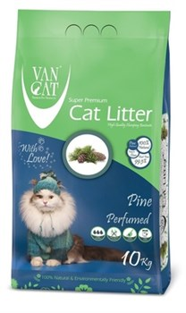 Van Cat - Наполнитель комкующийся без пыли для кошек (с ароматом соснового леса) Pine - фото 16604