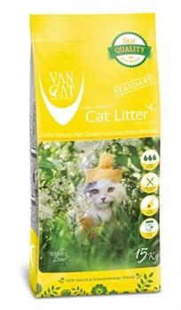 Van Cat - Наполнитель комкующийся без пыли для крупных кошек (без запаха) Big Cats - фото 16605