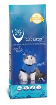 Van Cat - Наполнитель комкующийся без пыли для кошек (100% натуральный) Natural - фото 16606