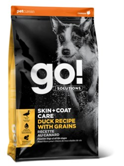 GO! Natural Holistic - Сухой корм для щенков и собак (с цельной уткой и овсянкой) Sensitivity + Shine Duck Dog Recipe - фото 16794