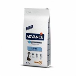 Advance - Сухой корм для взрослых собак крупных пород Контроль веса (с курицей и рисом) Maxi Light - фото 16812