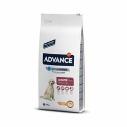 Advance - Сухой корм для пожилых собак крупных пород (с курицей и рисом) Maxi Senior - фото 16813