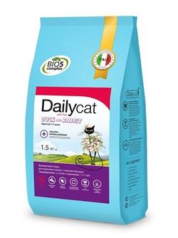Dailycat - Беззерновой сухой корм для взрослых стерилизованных кошек (с уткой и кроликом) Grain Free Adult Steri lite - фото 16851