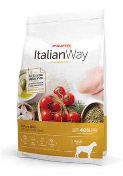 Italian Way - Сухой корм безглютеновый для взрослых собак крупных пород (с курицей и рисом) Maxi Chicken/Rice - фото 16970