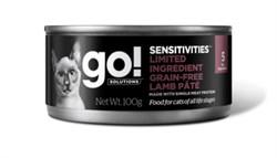 GO! Natural Holistic - Консервы беззерновые для кошек с чувствительным пищеварением (с ягненком) Sensitivities Limited Ingredient Grain Free Lamb Pate CF - фото 17071