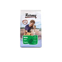 Karmy - Сухой корм для взрослых собак мелких пород (с индейкой) Mini Adult - фото 17567