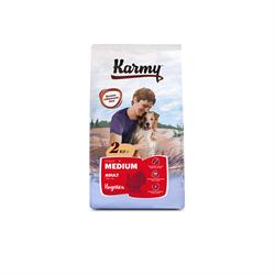 Karmy - Сухой корм для взрослых собак средних пород (с индейкой) MEDIUM ADULT - фото 17581