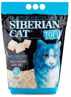 Сибирская кошка - Комкующийся наполнитель для кошек Тофу (оригинальный) - фото 17827