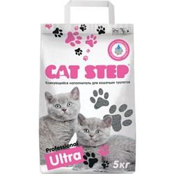 Cat Step - Комкующийся бентонитовый наполнитель для кошек Professional Ultra - фото 17959