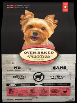Oven Baked - Сухой корм для взрослых собак мелких пород (с ягненком) Tradition Adult Dog Small Breed - фото 18189