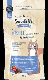 Sanabelle - Лакомство для кошек (с форелью и клюквой) Snack - фото 18258