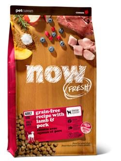 NOW Natural Holistic - Сухой корм беззерновой для взрослых собак (со свежим мясом ягненка) Grain Free Red Meat Adult Recipe - фото 18264
