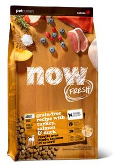 NOW Natural Holistic - Сухой корм беззерновой для взрослых собак (с индейкой, уткой и овощами) Fresh Adult Recipe Grain Free - фото 18293