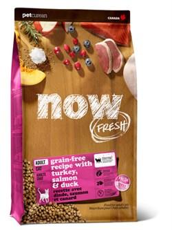 NOW Natural Holistic - Сухой корм беззерновой для взрослых кошек (с индейкой, уткой и овощами) Fresh Grain Free Adult Cat Recipe - фото 18297