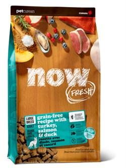 NOW Natural Holistic - Сухой корм беззерновой для взрослых собак крупных пород (с индейкой, уткой и овощами) Fresh Adult Large Breed Recipe Grain Free - фото 18303