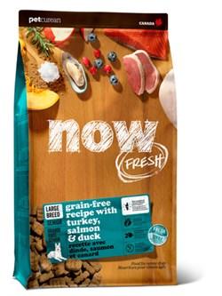 """NOW Natural Holistic - Сухой корм беззерновой """"Контроль веса"""" для собак крупных пород (с индейкой, уткой и овощами) Fresh Senior Large Breed Recipe Grain Free - фото 18305"""