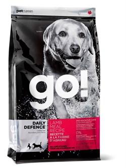 GO! Natural Holistic - Сухой корм для щенков и собак (со свежим ягненком) Daily Defence Lamb Meal Recipe - фото 4989