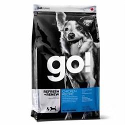 GO! Natural Holistic - Сухой корм для щенков и собак (с цельной курицей, фруктами и овощами) Refresh + Renew Chicken Dog Recipe - фото 5001
