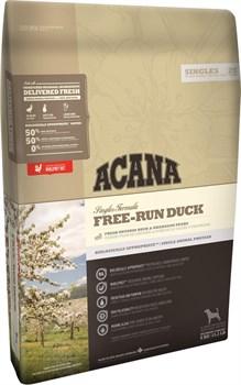 Acana Singles - Сухой беззерновой корм для взрослых собак всех пород (утка с грушей) Free-Run Duck - фото 5020