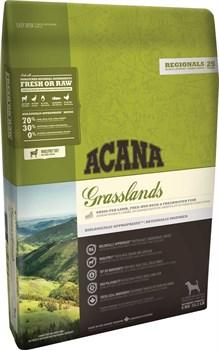 Acana Regionals - Сухой беззерновой корм для собак всех пород (ягненок) Grasslands Dog - фото 5023