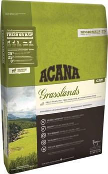 Acana Regionals - Сухой корм для кошек всех пород и возрастов (ягненок) Grasslands Cat - фото 5036
