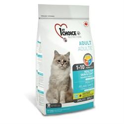 """1St Choice - Сухой корм для кошек """"Здоровая кожа и Шерсть"""" (лосось) - фото 5046"""