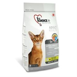 1St Choice - Сухой беззерновой корм для кошек гипоаллергенный (утка с картофелем) - фото 5048