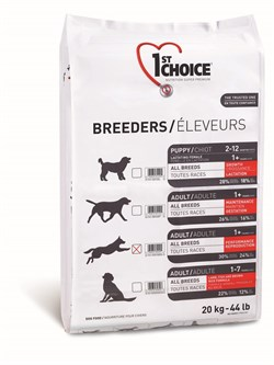 1St Choice - Сухой корм для активных собак всех пород Breeders - фото 5068