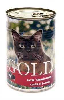 Nero Gold Super Premium - Консервы для кошек (свежий ягненок) Cat Adult Lamb - фото 5072